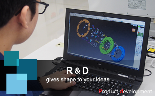 R&D gives shape to your ideas