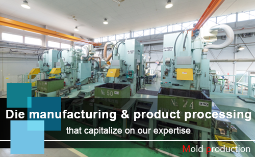 Die manufacturing & product processing that capitalize on our expertise