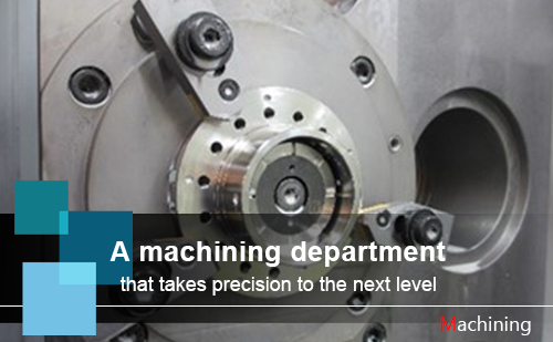 A machining department that takes precision to the next level